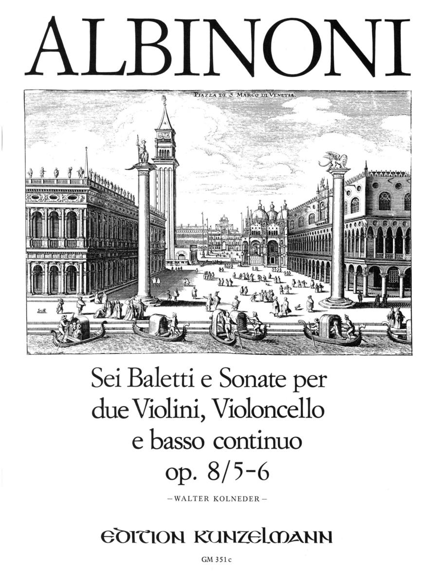 Balletti e Sonata a tre Vol. 3
