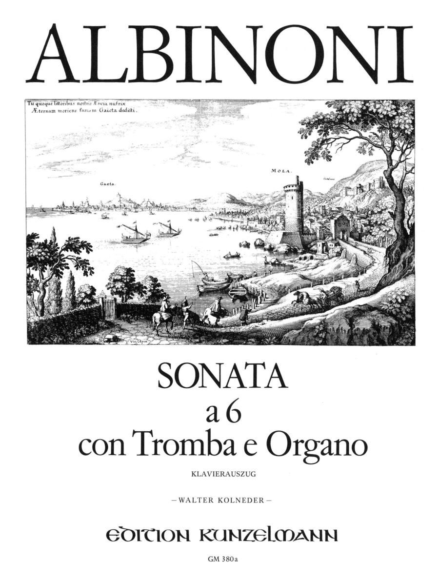 Sonata a 6 con Tromba e Organo