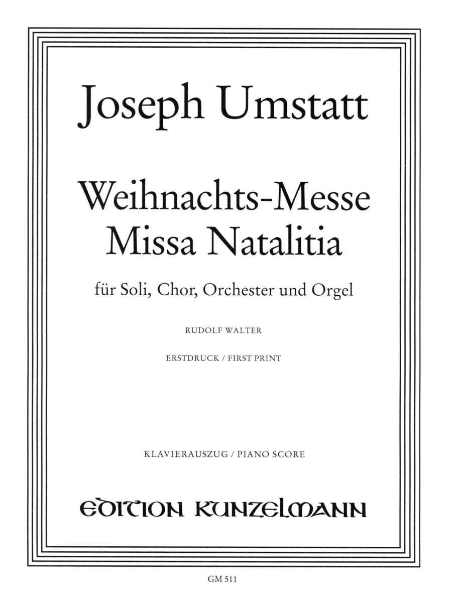 Missa Natalitia (Christmas Mass)