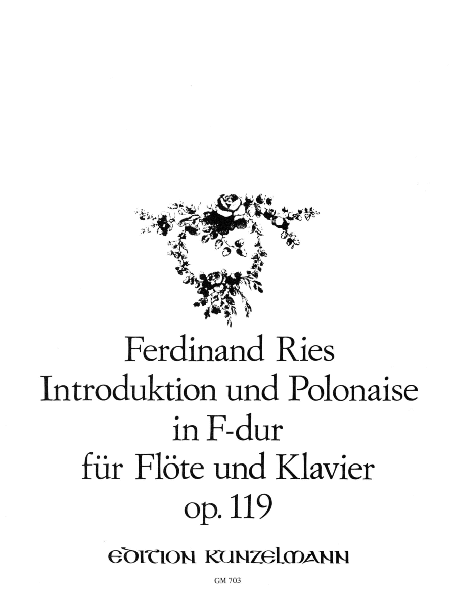 Introduction and Polonaise in F Major Op. 119