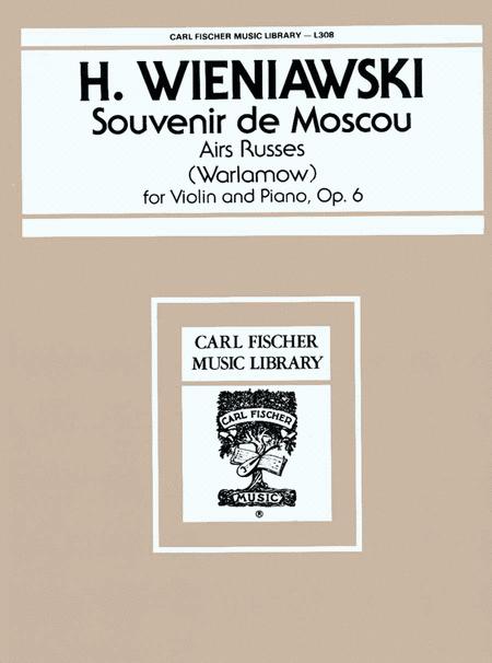 Souvenir de Moscou, Op. 6