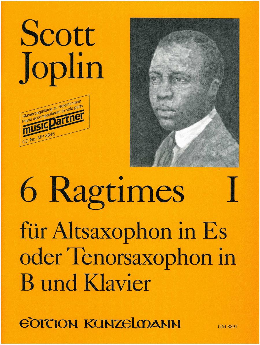 6 Ragtimes (A/TSax,Pf)