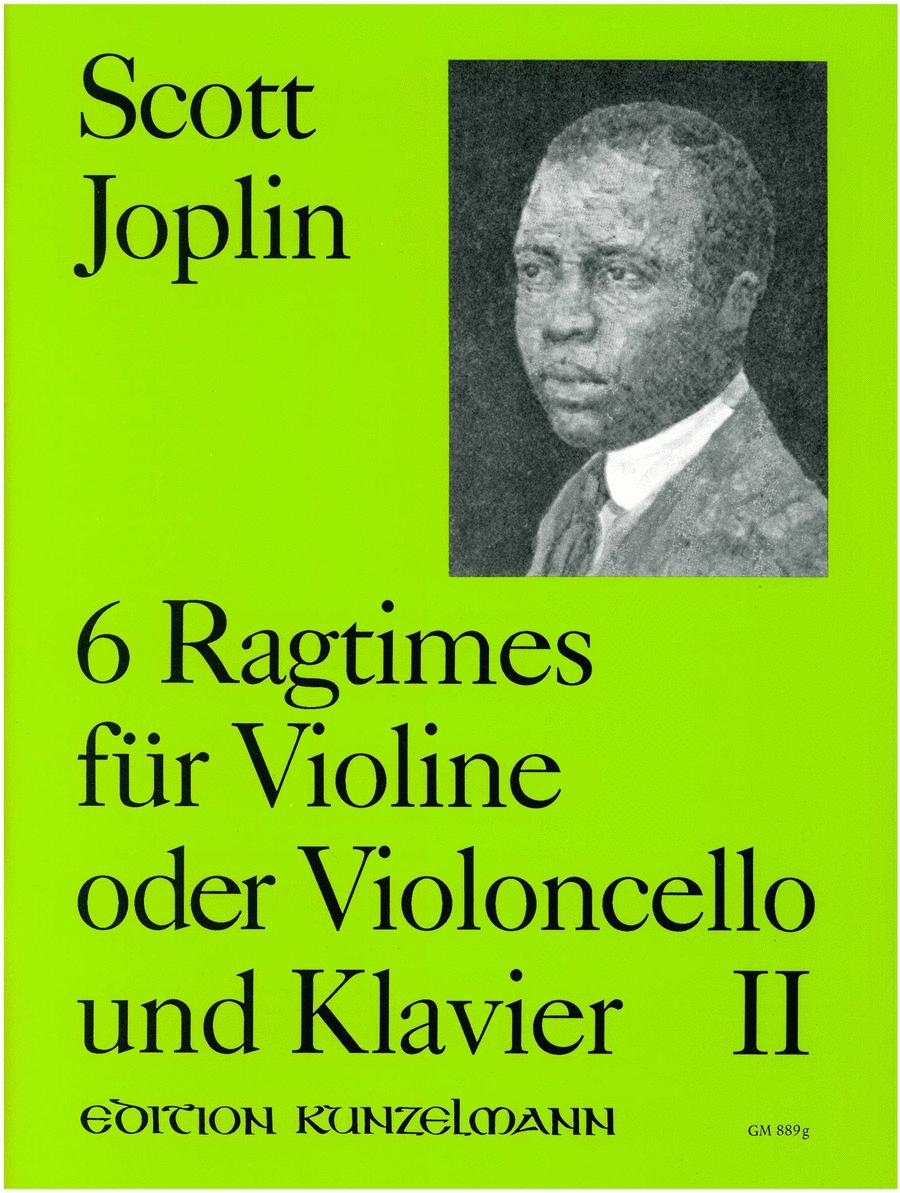 Ragtimes Vol. 2 (Vln/Vc)