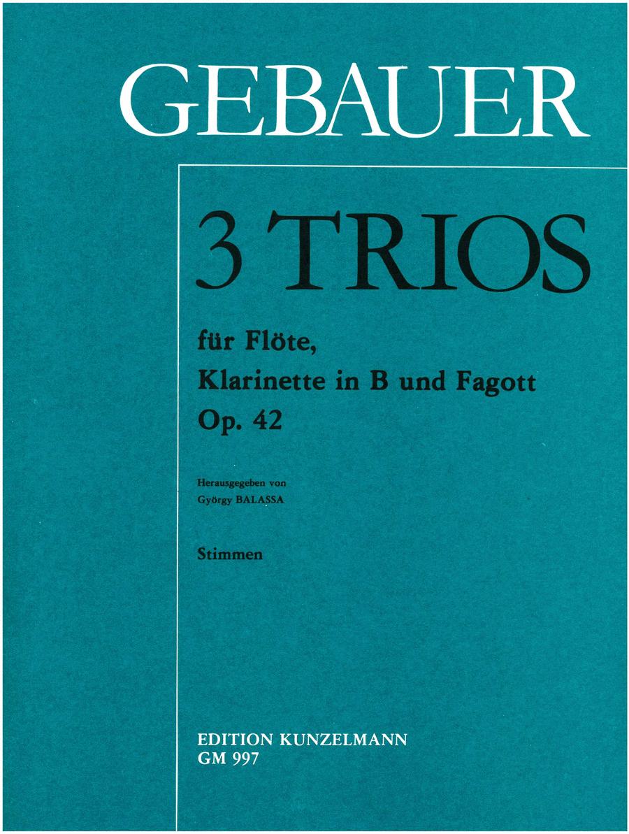 Trios (3) Op.42