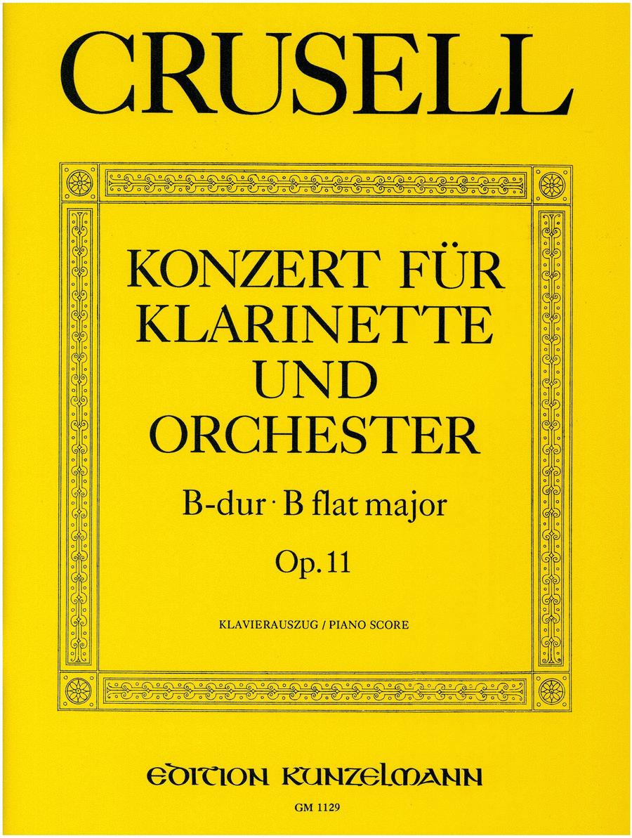 Clarinet Concerto in B flat Major Op.11