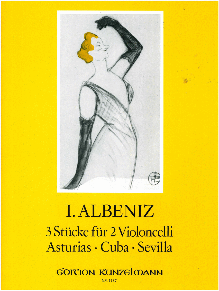 Pieces (3) for 2 Cellos