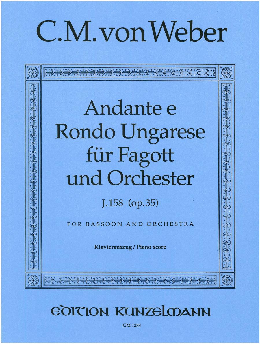 Andante and Hungarian Rondo Op. 35 (K158)