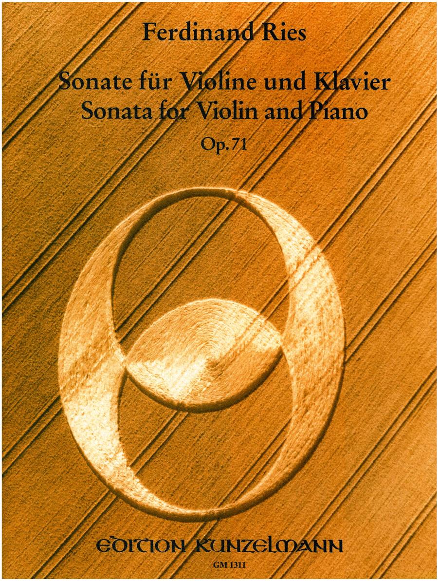Violin Sonata Op. 71