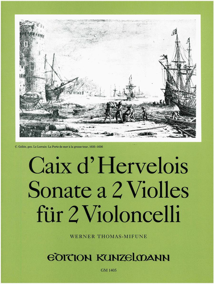 Sonata a 2 Violles