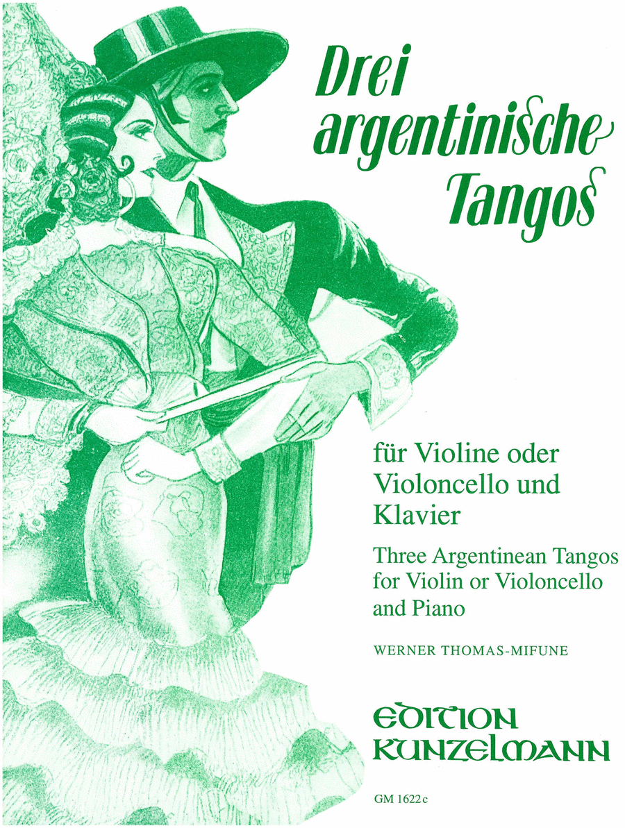 3 Argentinian Tangos