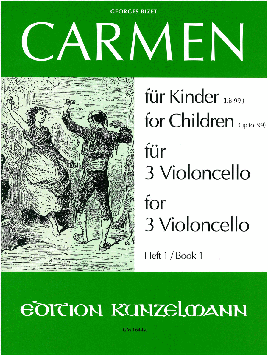 Carmen for Children (or persons up to 99), Vol.1