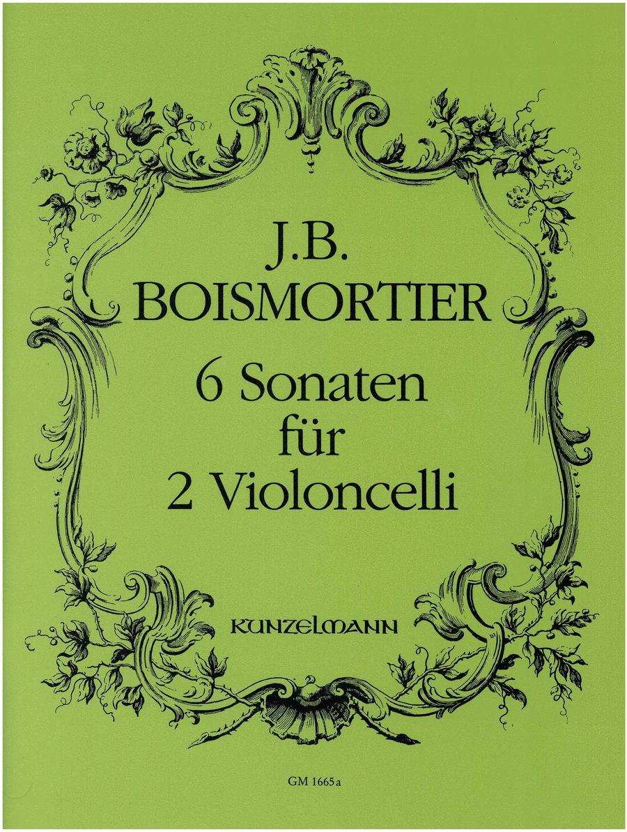 6 Sonatas for 2 Violoncellos