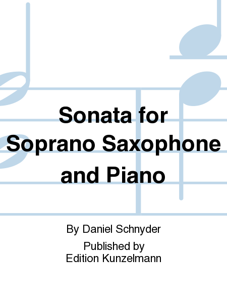Sonata for Soprano Saxophone and Piano