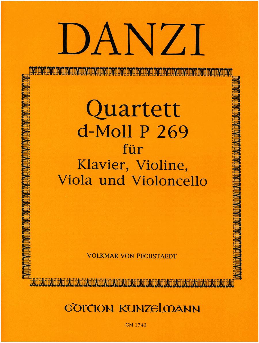 Piano Quartet in D Minor P.269
