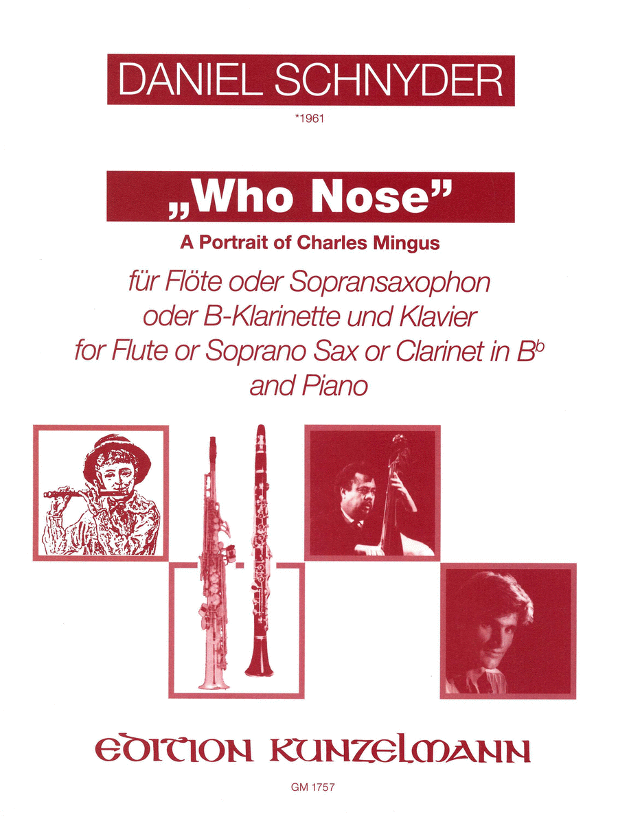 Who Nose (A Portrait of Charlie Mingus)