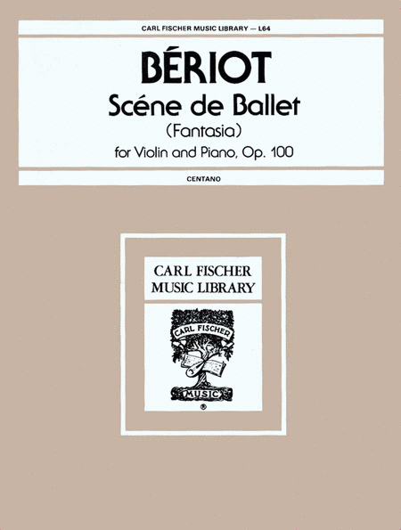Scene de Ballet (Fantasia)-Op. 100