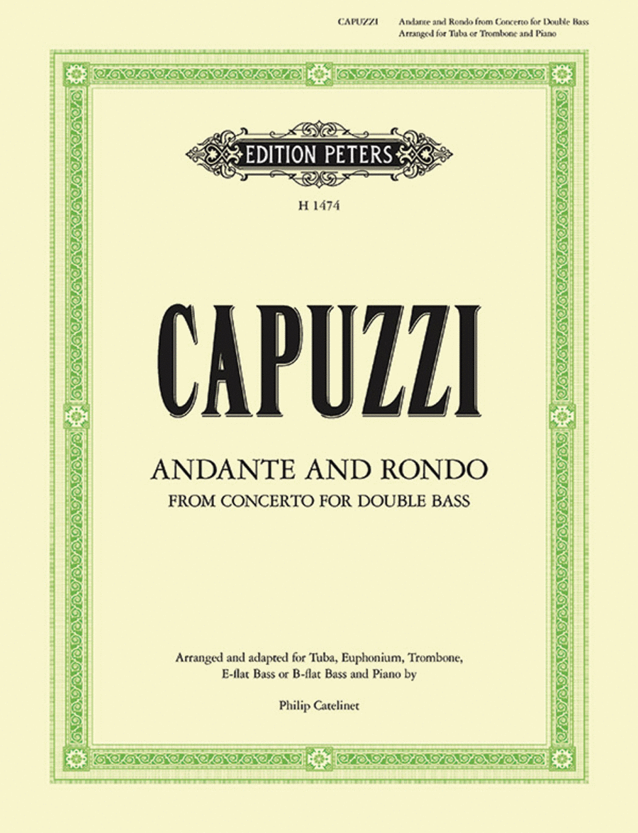 Andante And Rondo - From Concerto For Double Bass