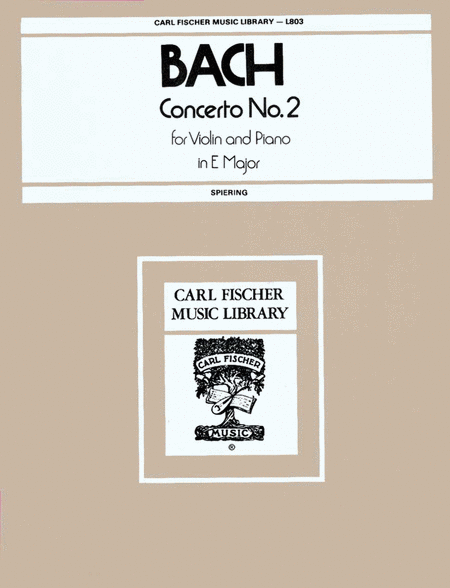Concerto No. 2 in E Major
