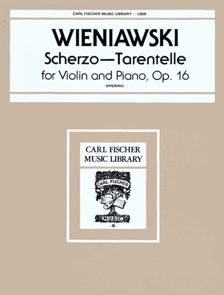 Scherzo-Tarentelle, Op. 16