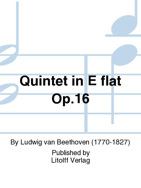 Quintet in E flat Op. 16
