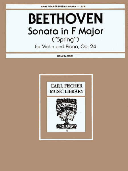Sonata in F Major, Op. 24