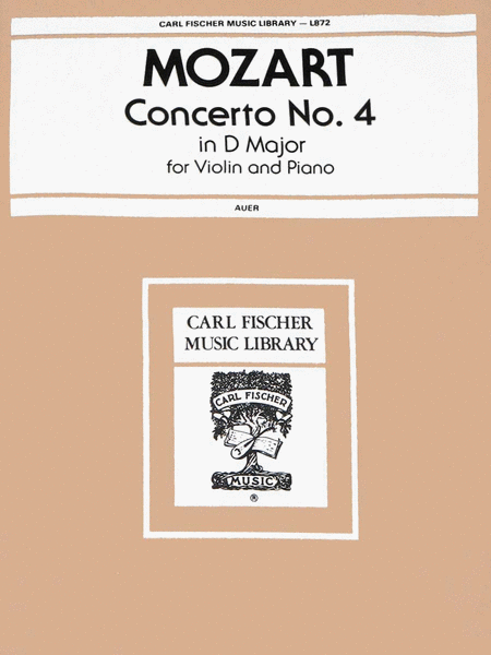 Concerto No. 4 in D Major