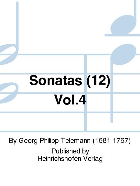 Sonatas (12) Vol.4