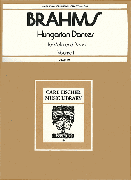 Hungarian Dances, Vol. 1