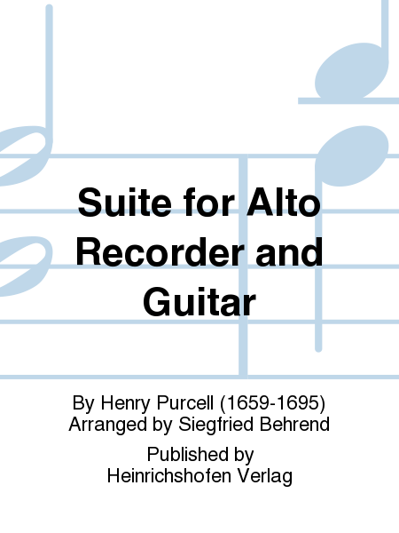 Suite for Alto Recorder and Guitar