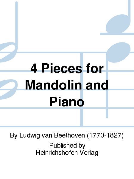 4 Pieces for Mandolin and Piano