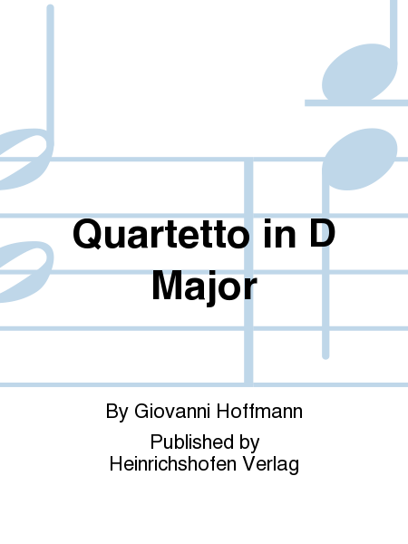 Quartetto in D Major