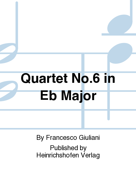 Quartet No. 6 in Eb Major