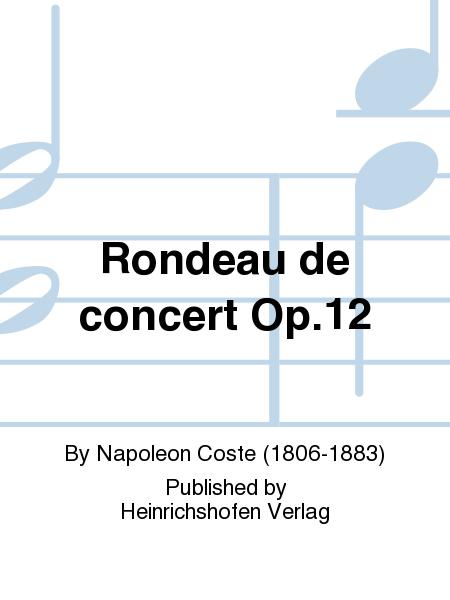 Rondeau de concert Op. 12