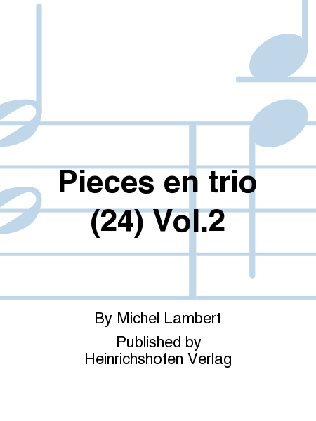 Pieces en trio (24) Vol. 2