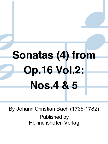 Sonatas (4) from Op. 16 Vol. 2: Nos. 4 & 5