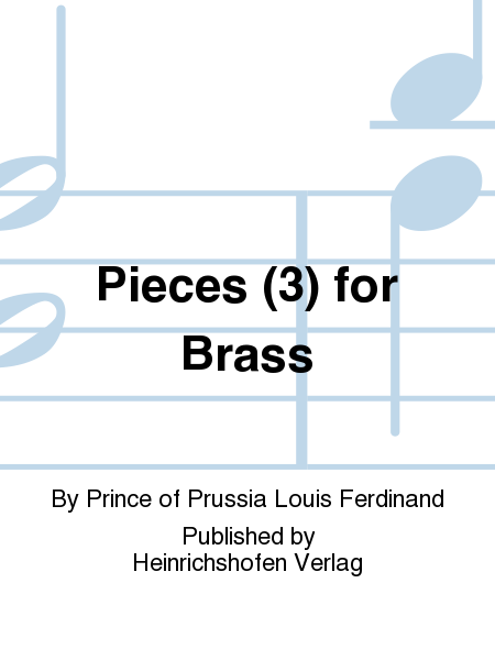 Pieces (3) for Brass