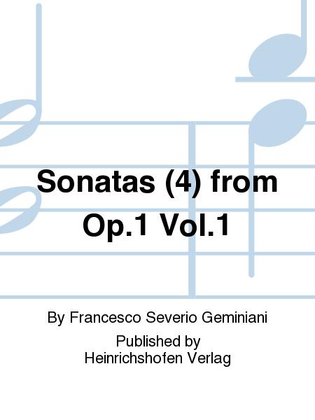 Sonatas (4) from Op. 1 Vol. 1