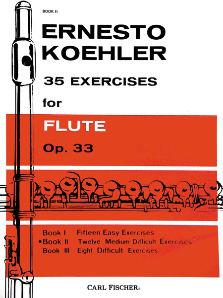 35 Exercises for Flute, Op. 33 - Book II