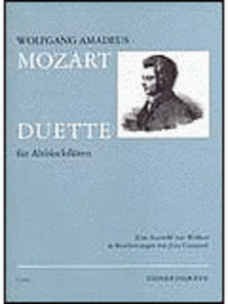 7 Duets for Alto Recorders