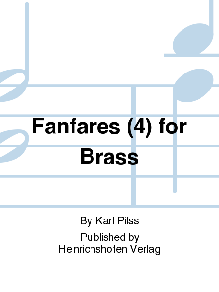 Fanfares (4) for Brass