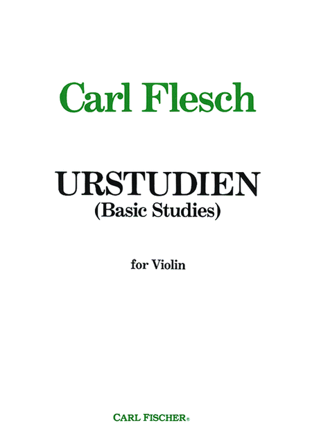 Urstudien (Basic Studies)