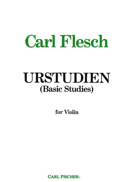 Unstudien (Basic Studies)