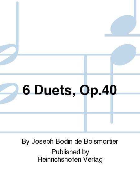 6 Duets Op. 40