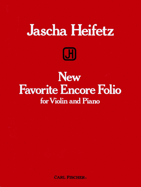 New Favorite Encore Folio