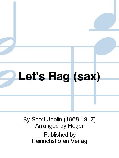 Let's Rag (sax)