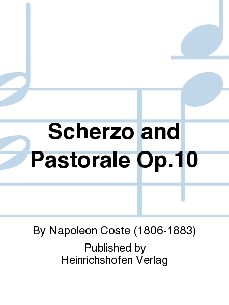 Scherzo and Pastorale Op. 10