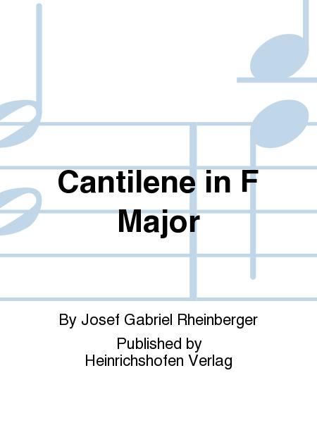 Cantilena in F Major Op. 148 No. 2