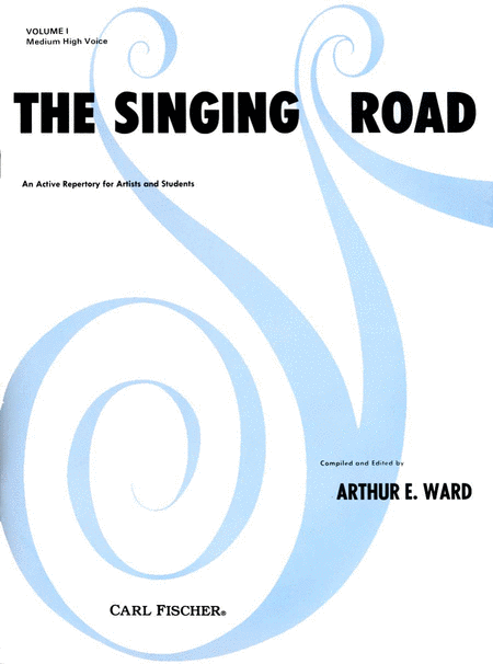 Singing Road, The-Medium High Voice-Vol. I