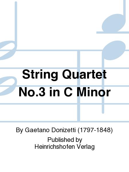 String Quartet No. 3 in C Minor