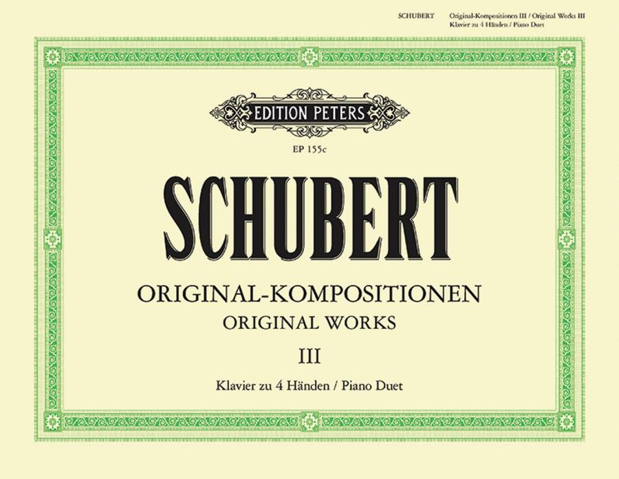 Original Compositions for Piano Duet Vol. 3